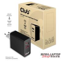 CLUB3D USB-C power adapter