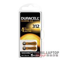 Elem Duracell EASYTAB 312/PR41 1,45V hallókészülékhez (6db/csomag)