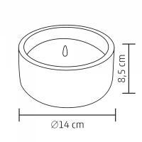 Home CDL 14 LED-es kő mécses