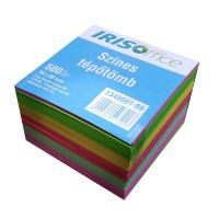 IRISOffice 80x80x50mm színes kockatömb