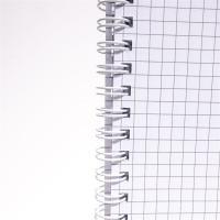 IRISOffice A4 80 lapos kockás (ikerspirál) spirálfüzet
