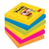 Post-i Super Sticky Rio 76x76mm 6db/csomag jegyzettömb