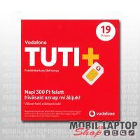 SIM kártya Vodafone TUTI+ csomag 0Ft lebeszélhető