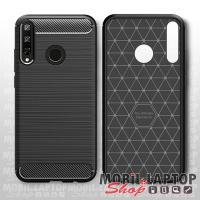 Szilikon tok Huawei Y6P fekete karbon minta