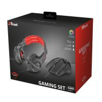 Trust GXT 784 2-in1 gamer headset & egér