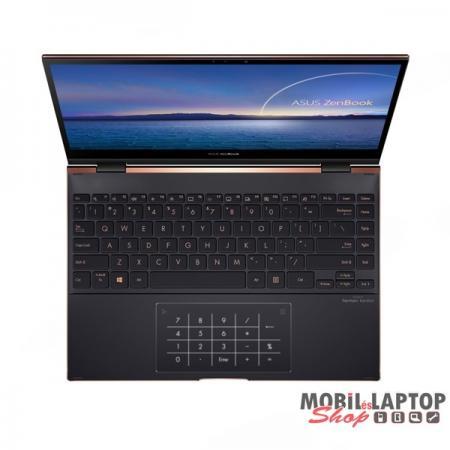 """ASUS ZenBook Flip S UX371EA-HL152T 13,3"""" 4K/Intel Core i5-1135G7/8GB/512GB/Int. VGA/Win10/fekete lap"""