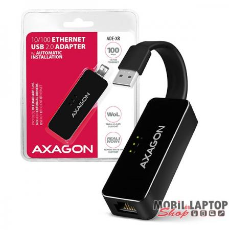 Axagon ADE-XR USB 2.0 - Fast Ethernet adapter