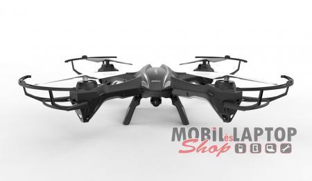 Falcon U842 drón ( 2.4 GHz, 2 MP-es HD kamerával, 360 fokos fordulat ) fekete-ezüst